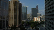 Stock Video Footage of Atlanta Skyline Timelapse