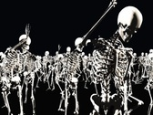Stock Video Footage of Dancing Skeletons