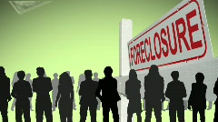 HOME FORECLOSURE Stock Footage