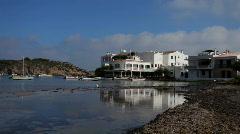 Es grau menorca coast island mediterranean Stock Footage