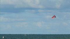 kite surfing 1 hdp - stock footage