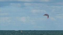 kite surfing 2 hdp - stock footage