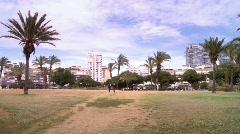 Park in Tel-Aviv 2 Stock Footage