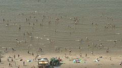 Netherlands 14 Amsterdam Beach Stock Footage