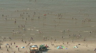 Stock Video Footage of Netherlands 14 Amsterdam Beach