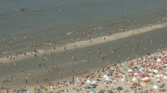 Netherlands 08 Amsterdam Beach Stock Footage