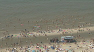 Stock Video Footage of Netherlands 10 Amsterdam Beach