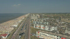 Netherlands 05 Amsterdam Beach Stock Footage
