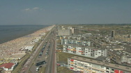 Stock Video Footage of Netherlands 05 Amsterdam Beach