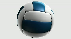 volleyball - stock footage