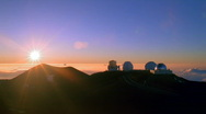Astronomical Observatories HD Stock Footage