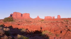 Monument Valley Sunset 480x270 Stock Footage