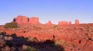 Stock Video Footage of Monument Valley Sunset 480x270