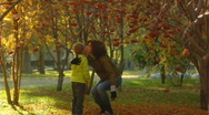 Happy girls - slow motion 010 Stock Footage