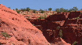 Red Rock In The Jemez Mountains Footage