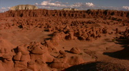 Stock Video Footage of Goblin Valley 1 Time Lapse x20