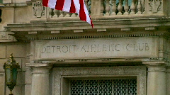 Detroit Athletic Club Stock Footage