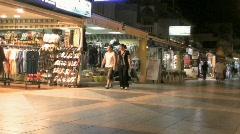 Torremolinos Shop Front Stock Footage