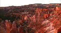 Bryce Canyon 3 Sunrise Loop Footage