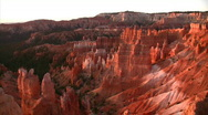 Stock Video Footage of Bryce Canyon 3 Sunrise Loop