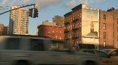Trafik in new york - stock footage