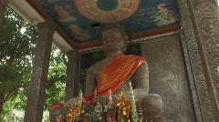 Buddha stature Stock Footage