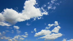 Clear sky Stock Footage