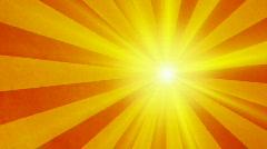 Retro sun vintage background - stock footage