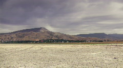 Salt lake desert Stock Footage