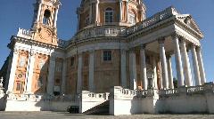 Basilica of Superga, Turin, Italy Stock Footage