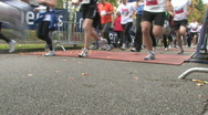 Stock Video Footage of 4 Mile footrace