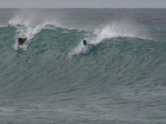 Cabo Verde Surfing 04 Stock Footage