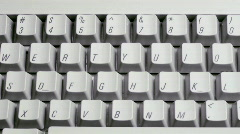 Keyboard Communications Stock Footage