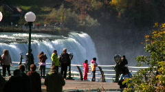 Niagara Falls 1103 Stock Footage