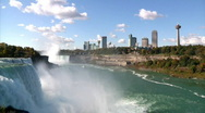 Stock Video Footage of Niagara Falls 1110