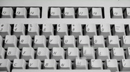 Stock Video Footage of Keyboard Typing