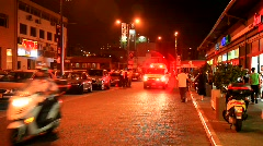 Ambulance in Tel Aviv - stock footage