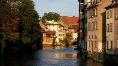 France Alsace Strasbourg Petite France Stock Footage