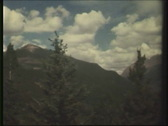 Stock Video Footage of NTSC: Rocky Mountains 8mm