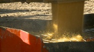 Agriculture, grain truck dumping mustard seed into auger, #6 Stock Footage