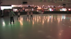 Roller Rink Stock Footage