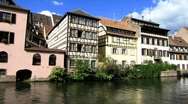 Stock Video Footage of France Alsace Strasbourg Petite France