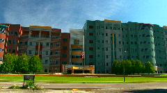 Detroit's VA Hospital Stock Footage
