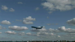 HD1080i Passenger airplane jetliner. Take off. - stock footage
