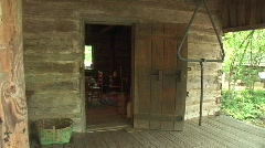 Texas country historical house Stock Footage