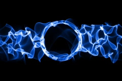 Plasma ring loop animation Stock Footage
