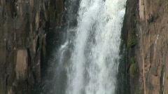 Howick Waterfall - slomo - stock footage