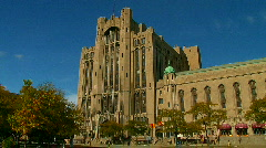 Detroit's Masonic Temple Stock Footage