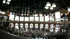 Citifield Rotunda in New York Mets Stadium Stock Footage