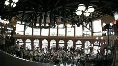 Citifield Rotunda in New York Mets Stadium - stock footage